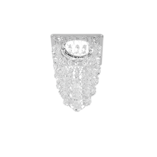 Светильник Gauss Brilliance PT009 Кристалл/Хром, Gu5.3 1/30