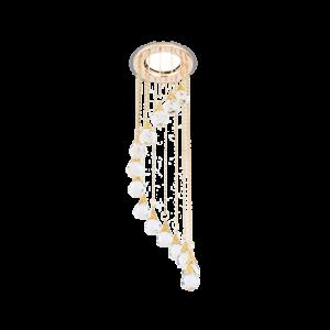 Светильник Gauss Brilliance PT011 Кристалл/Золото, Gu5.3 1/30