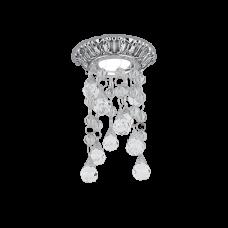 Светильник Gauss Brilliance PT015 Кристалл/Хром/Черный, Gu5.3 1/30
