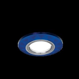 Светильник Gauss Mirror RR005 Гран. Кристал cиний/Хром, Gu5.3 1/50
