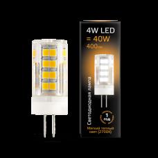 Лампа Gauss LED G4 AC185-265V 4W 2700K керамика
