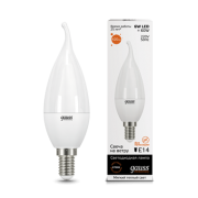 Лампа Gauss LED Elementary Candle Tailed 6W E14 2700K